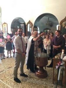Έτοιμος για το λάδωμα - Αγιοι Ισίδωροι Λυκαβηττού