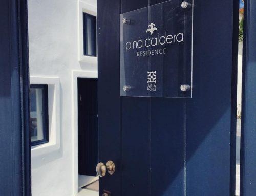 Pina Caldera : Το new entry της Aria Hotels