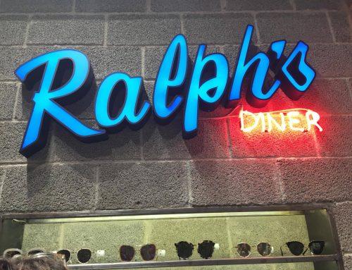 1 χρόνος Ralph's Diner!