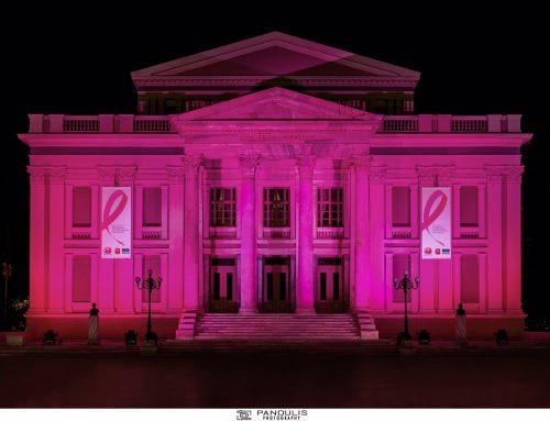 Το Δημοτικό Θέατρο Πειραιά μετατράπηκε σε σύμβολο ελπίδας, συμμετέχοντας στο παγκόσμιο πρόγραμμα φωταγώγησης σημαντικών κτιρίων!!!