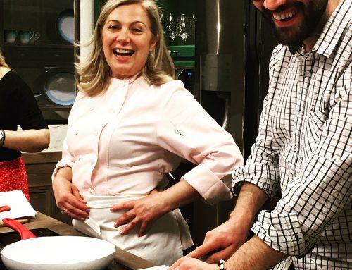 Με την Ντίνα Νικολάου στην κουζίνα της Yoleni's ο χρόνος σταματάει!!!