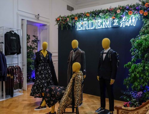 ΜΕ ΕΝΑ EXCLUSIVE FASHION PARTY KANEI NTEMΠOYTO Η ΣΥΛΛΟΓΗ ERDEM x H&M
