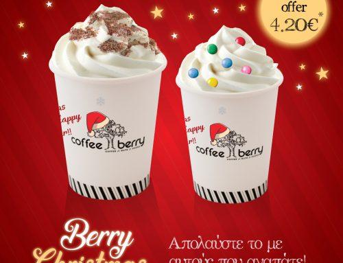 """Χριστουγεννιάτικο Ρόφημα """"Berry Christmas"""""""